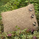 Get Hooked on Tunisian Crochet pillow