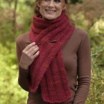 Get Hooked on Tunisian Crochet scarf