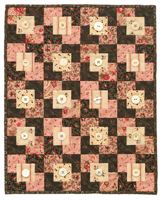 box of chocolates wall quilt