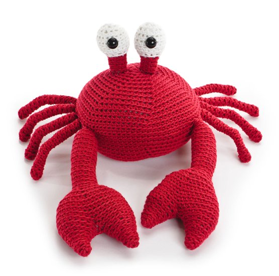 crocheted-softies-crab
