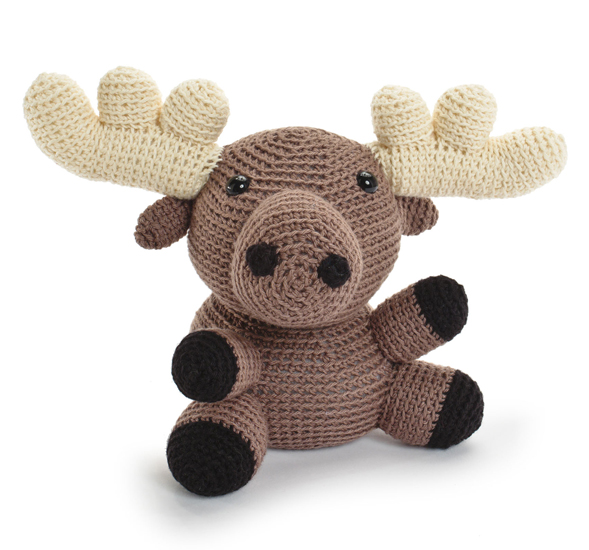crocheted-softies-moose