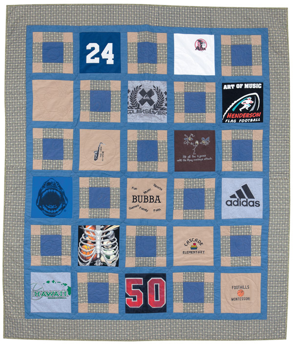 How To Make A T Shirt Quilt With Marie Osmond Stitch This The