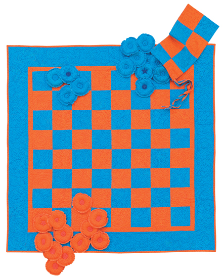 checkerboard game quilt