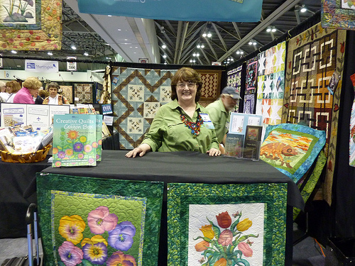 Terrie Linn Kygar, author of Creative Quilts from Your Crayon Box