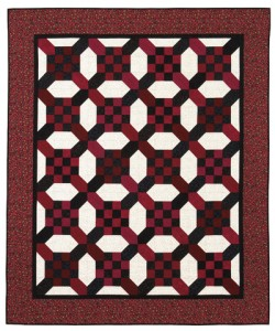 Square Crossing Quilt from Square Deal