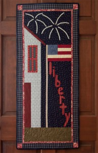 Liberty Door Banner quilt from Folk-Art Favorites