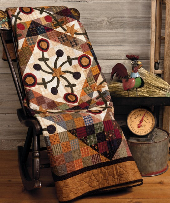 At Home with Country Quilts 1