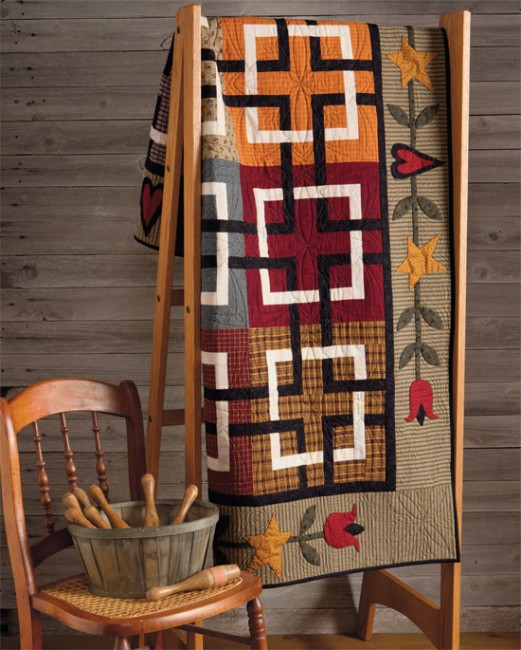 At Home with Country Quilts 7