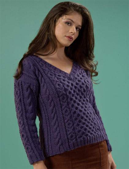 cable sweater from Cable Confidence 5