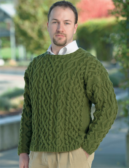 cable sweater from Cable Confidence 6