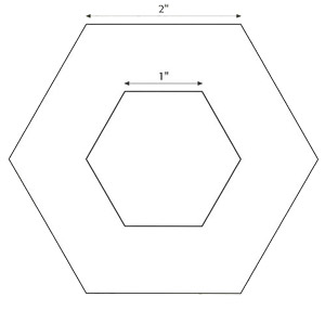 hexagon templates for quilting free - portable quilting for fabric florists stitch this the