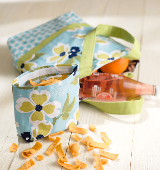 12 Lunch-Break Reusable Bags from Sew the Perfect Gift