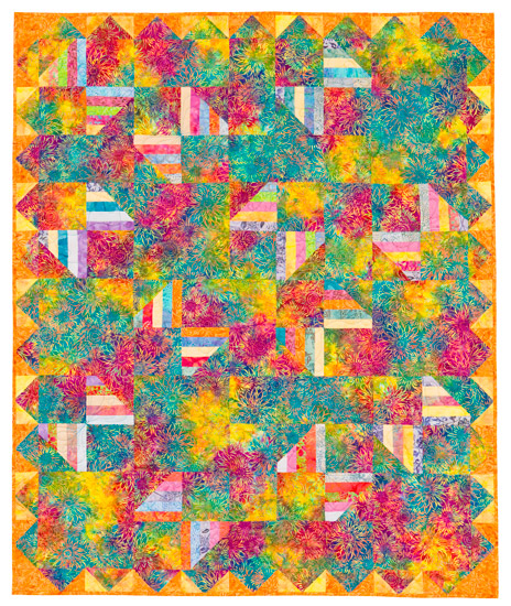 2 Butterfly Dance from SuperStrata Quilts