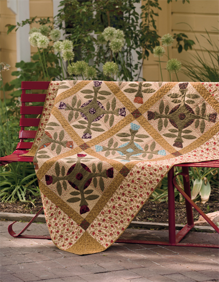 Bloomin Wonderful quilt by Kim Diehl