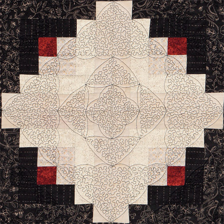Easy free-motion quilting designs: a stippling sensation - Stitch ... : stippling quilting techniques - Adamdwight.com