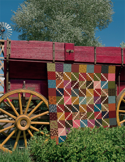 High Cotton quilt by Kim Diehl