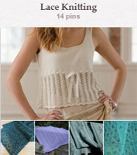 Pinterest--lace knitting
