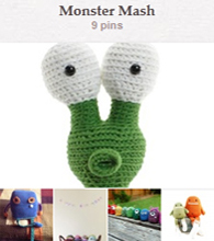 Pinterest--monster mash