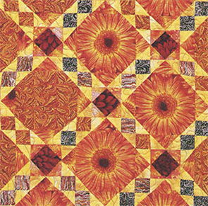 Hot Summer Sun from Scatter Garden Quilts