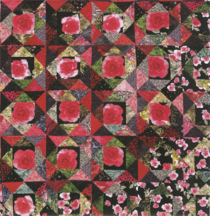 Rambling Roses from Scatter Garden Quilts