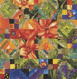 Tropical Tulips from Scatter Garden Quilts