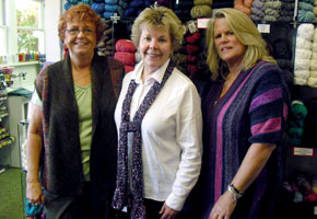 The staff of Great Yarns