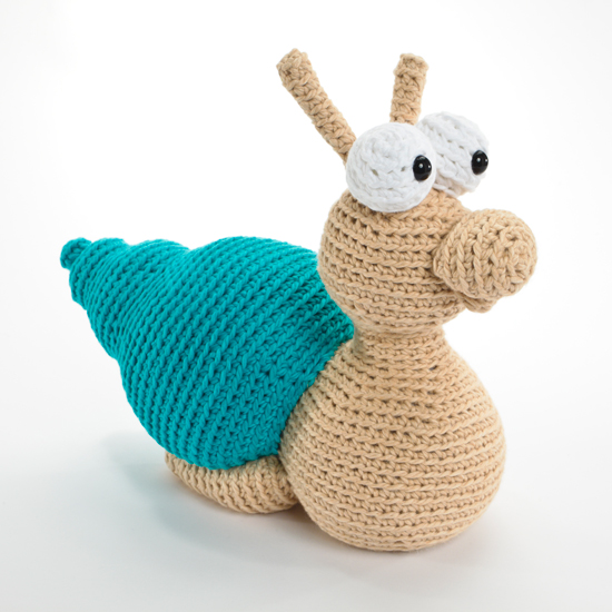 Snail from Crocheted Softies