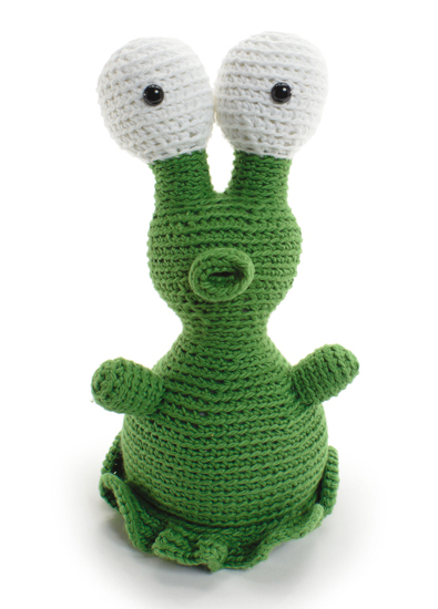 Zork the Alien from Crocheted Softies