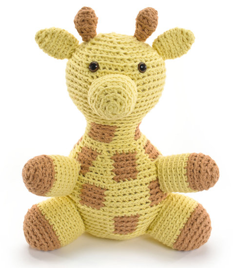 Giraffe from Crocheted Softies