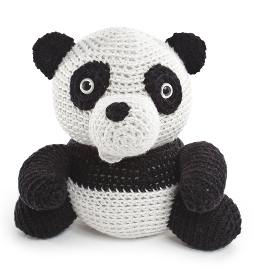 Panda from Crocheted Softies