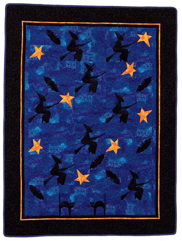 Night of the Witches quilt
