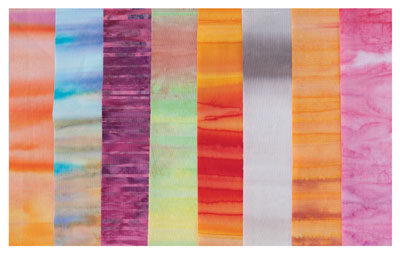 Striped batiks
