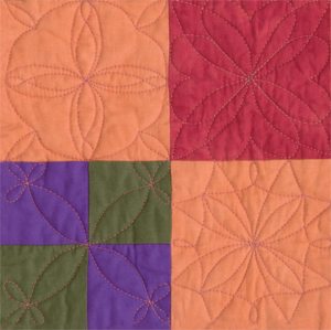 Detail from Free-Motion Quilting Made Easy