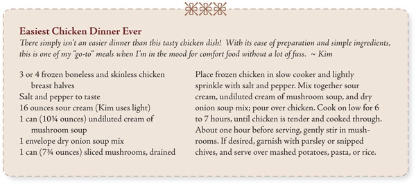 Easiest Chicken Dinner Ever recipe