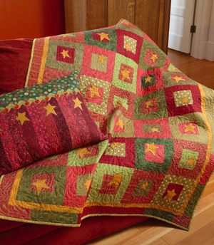 Quilt Dad: Country Cabin | a free pattern!