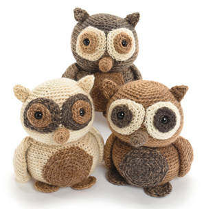 Hootie the Owl crocheted softies