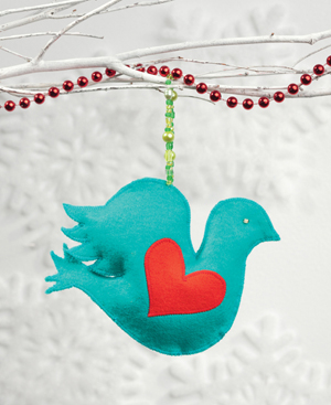 Lovey Dovey ornament