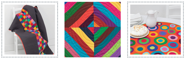 Projects from Solids, Stripes, Circles, and Squares