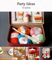 Party ideas Pinterest board