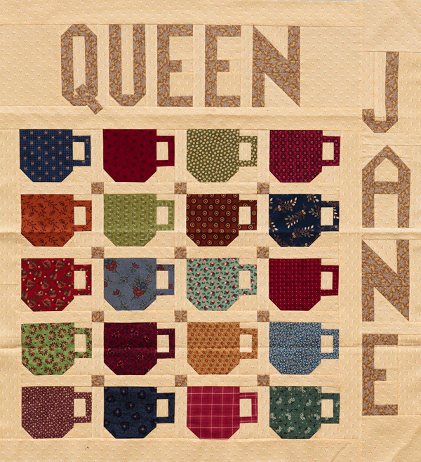 Coffee-cup quilt