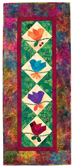 Bright Songs from Mimi Dietrich's Favorite Applique Quilts