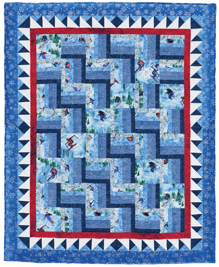 Easy Quilt Patterns For Large Print Fabrics Stitch This The