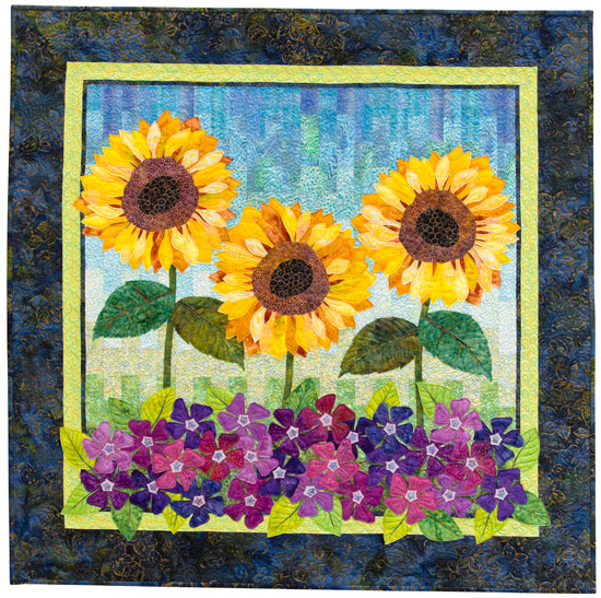 Summer Blooms from Flower Show Quilts