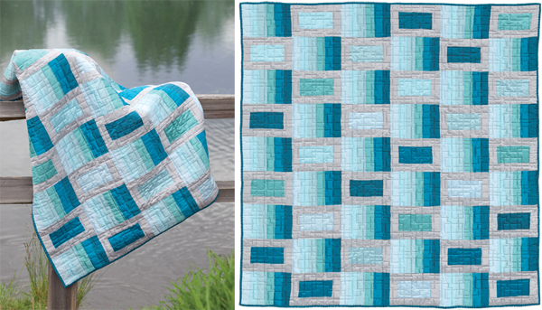 Color Waves quilt