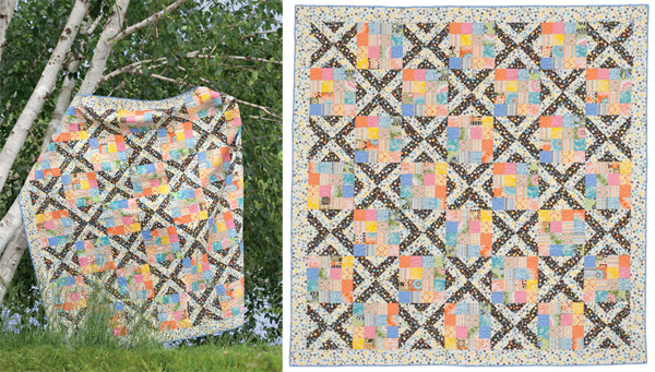 Confetti Crossings quilt
