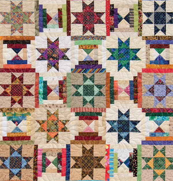 Scrap-quilting secrets for bed quilts - Stitch This! The ... : ohio star quilt shop - Adamdwight.com