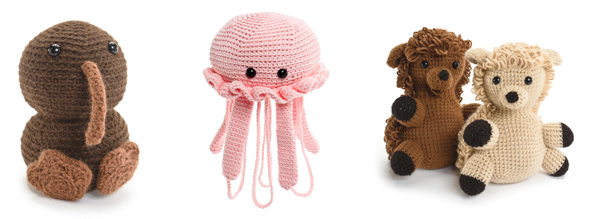 Projects from Crocheted Softies