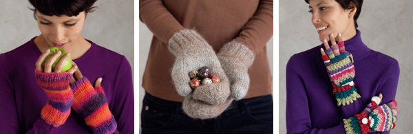 Projects from Knitting Circles around Mittens and More
