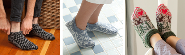 Projects from Knitting Scandinavian Slippers and Socks