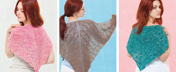 Projects from Sock-Yarn Shawls